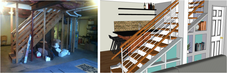 Tips for designing your basement - before you finish it! *knowgirls