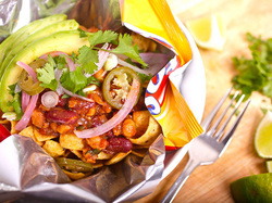 Vegan Frito Pie from Serious Eats and know girls