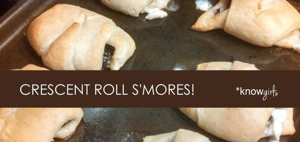 Crescent Roll S'Mores from *knowgirls