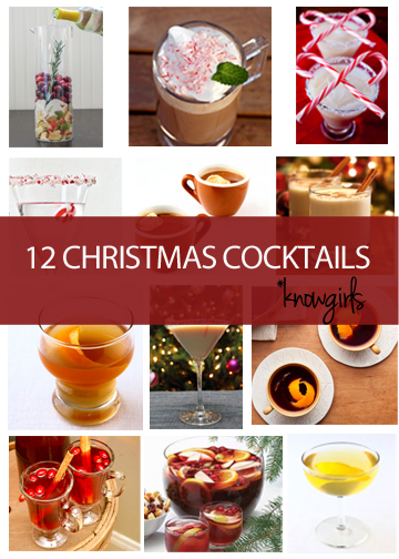 Christmas Holiday Cocktail Recipes