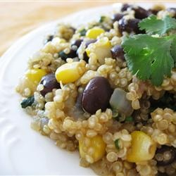 Black Beans and Quinoa Vegan Recipe from All recipes and the knowgirls